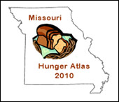 Missouri Hunger Atlas 2010