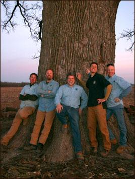 From left: John Darmody, Mike Sestric, Bill Spradley, Matt Schmittgens, Jamie Emmett.