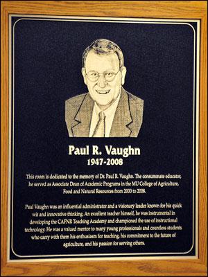Vaughn Plaque