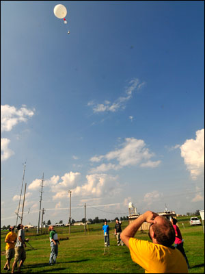 Weather Balloon Sky