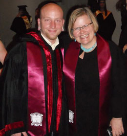 Jordan Dawdy and Mary Hendrickson