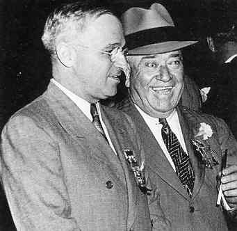 Harry Truman and Tom Pendergast in 1919.
