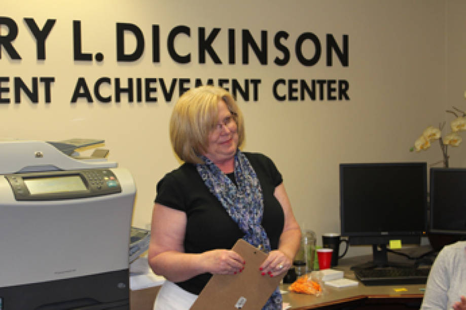 Cheryl Stevens, administrative assistant, Office of Academic Programs, was recognized with the CAFNR Staff Council Above and Beyond Award for May. Congratulations Cheryl!