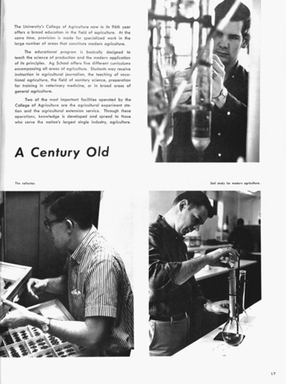 1966 Savitar, A century old