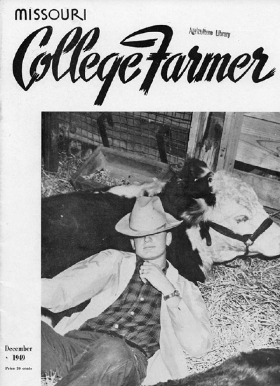 Missouri College Farmer cover, 1949