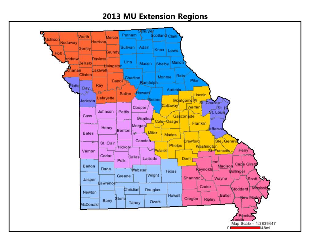 2013 MU Extension regions