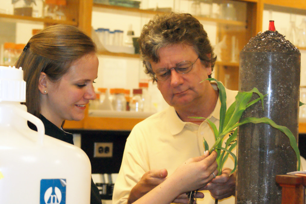Robert (Bob) Sharp professor in the Division of Plant Sciences, has been at MU since 1986 and has developed a worldwide reputation in plant water stress physiology. The effort is critically important. Drought can have a major impact on plant productivity and farm sustainability.