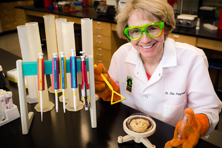 Shari Freyermuth, scientist and cookie maker.