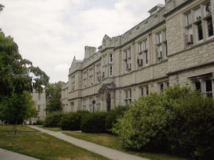 Waters Hall, University of Missouri.  Courtesy University of Missouri.