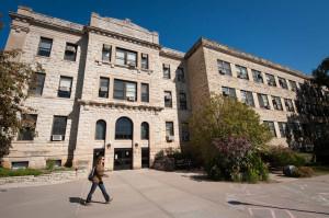 Waters Hall, Kansas State Univerity. Courtesy Kansas State University.