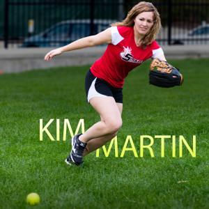 Kim Martin fielding