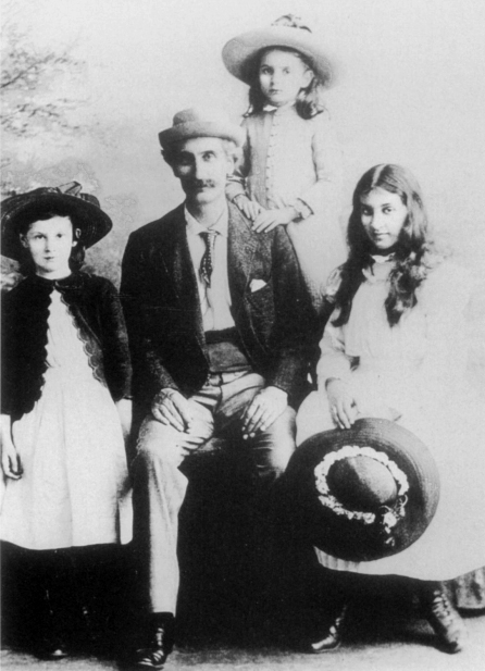 In June 1878, Riley married Emilie Conzelman, who was born and raised in St. Louis. Charles and Emilie went on to have five girls and a boy. Their first, Alice was born in 1879 and Cathryn, their youngest, came in 1891. William, Mary, Helen and Flora were all born in the 1880s.