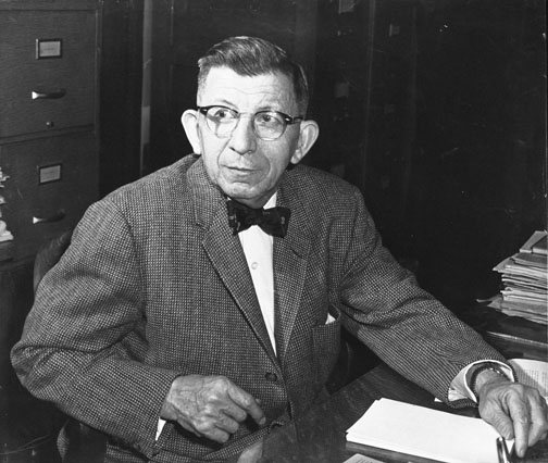 William Albrecht. Courtesy University of Missouri Archives.