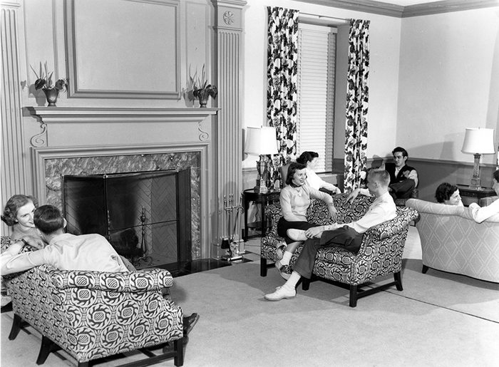 Gentry Hall 1950