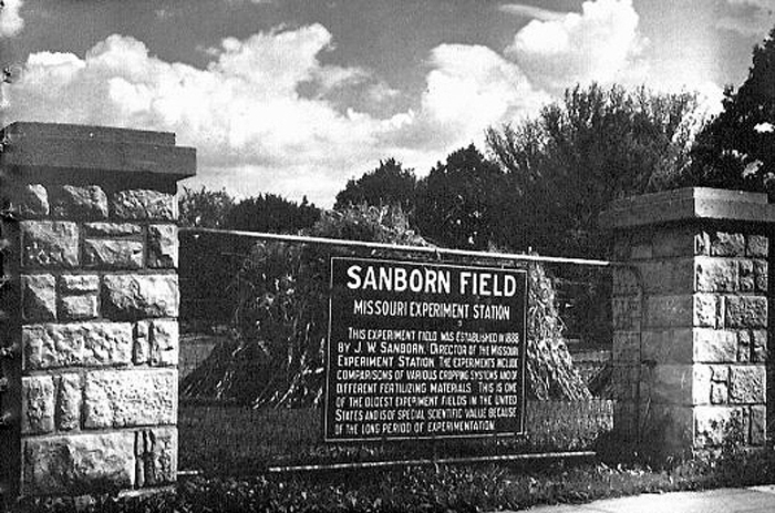 Sanborn Field was established in 1888