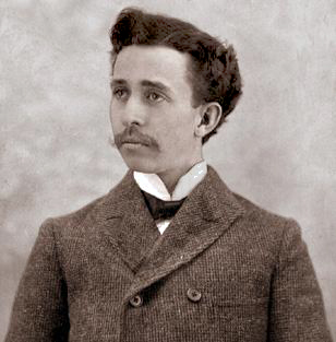In 1902 at age 27, Penney was the manager of a successful dry goods store in Wyoming.  He would soon buy out his partners and establish the J.C. Penney Company. Courtesy J.C. Penney Museum.