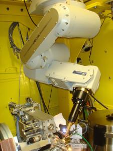 The beamline's robot.