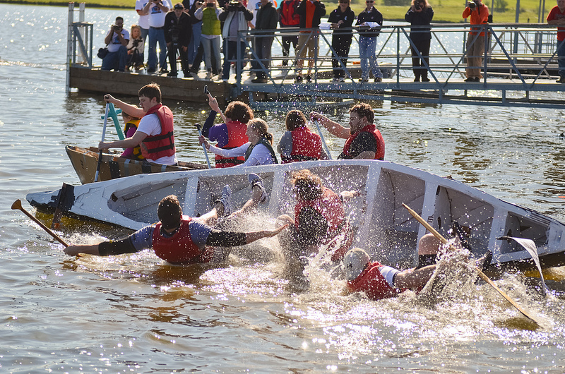 Sinking First Race