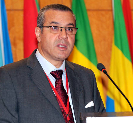 Tunisian Minister of Agriculture Lassaad Lachaal. ©FAO/Salah Habibi. Editorial use only. Copyright ©FAO.