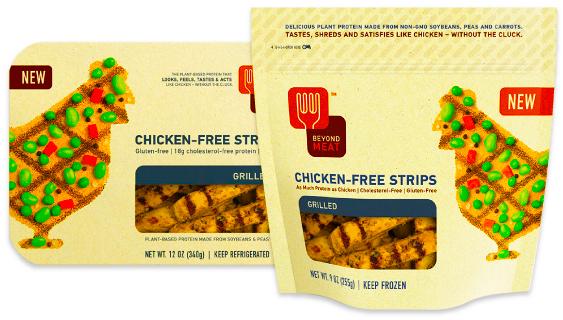 Chicken-Free Strips.