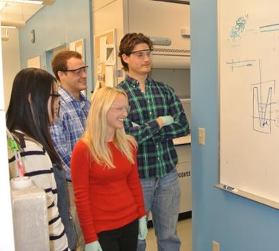 The ABC Laboratories interns, Photos by Chris Lee.