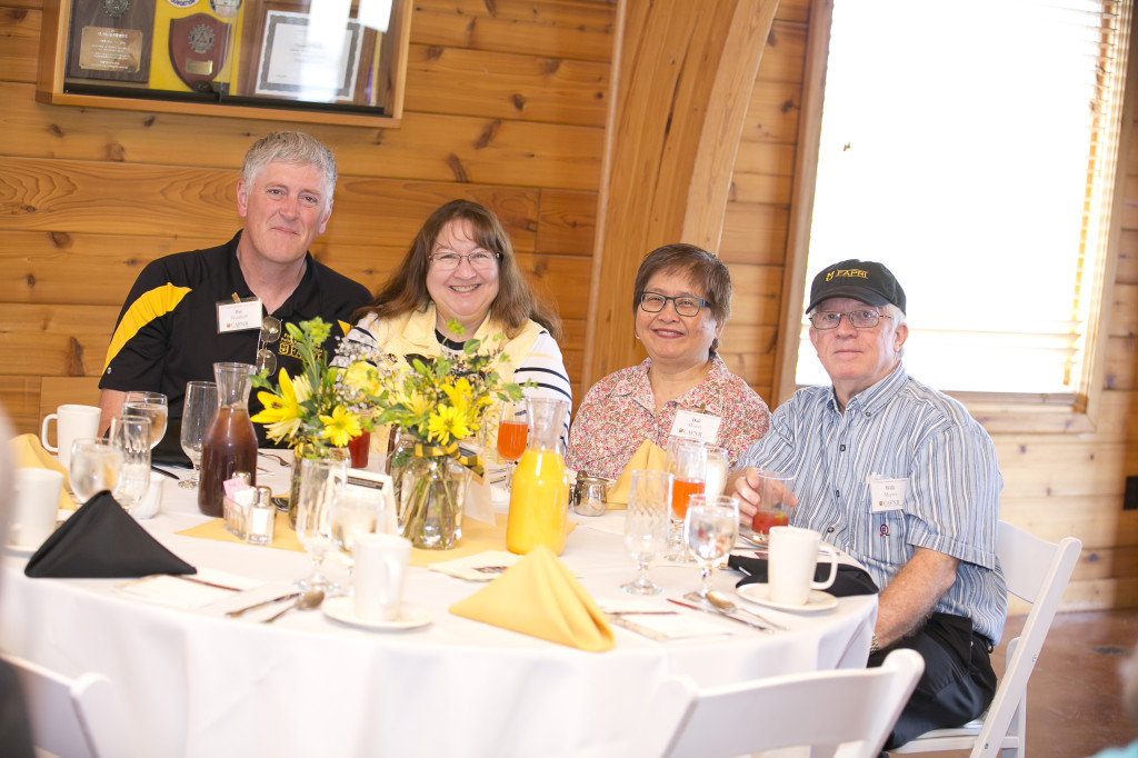 CAFNR alumni and friends gather for the annual Monticello Society brunch