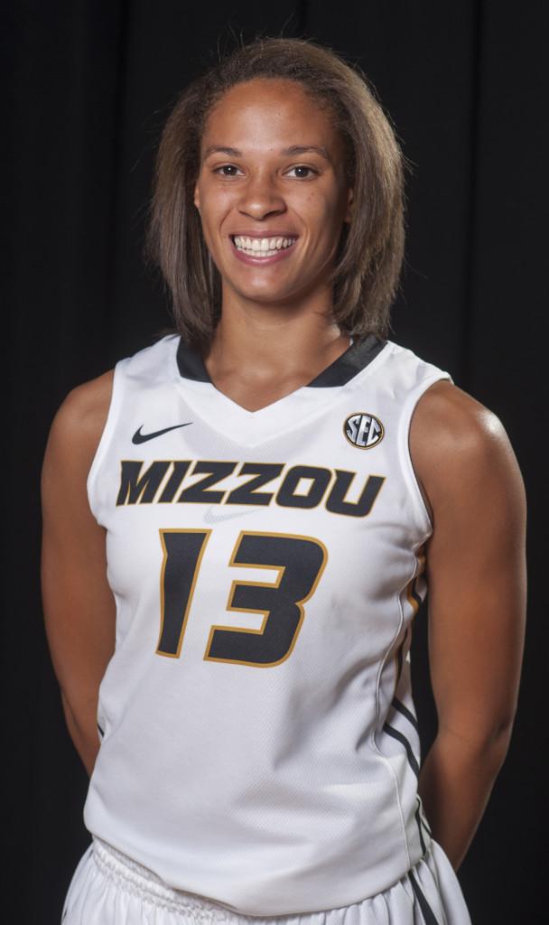 Mizzou Womens Basketball headshots 2013