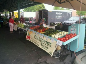 You can find Fahrmeier Farms produce at several farmers' markets around northwestern Missouri