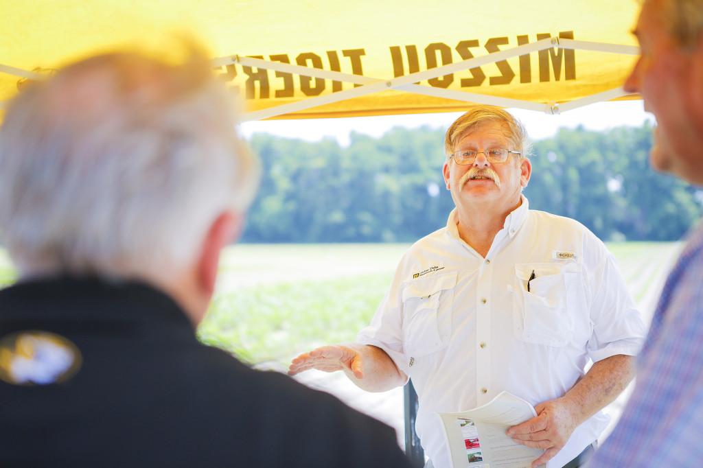 Irrigation Specialist Joe Henggeler speaks about the latest research.