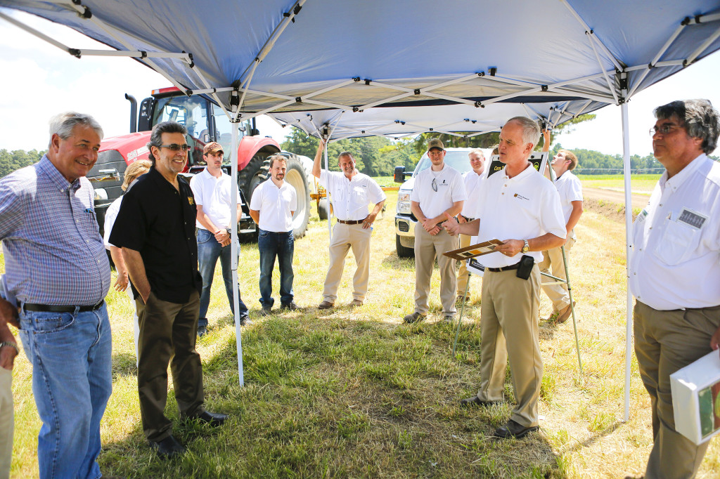 Crop Production Specialist Gene Stevens speaks about his group's latest projects.