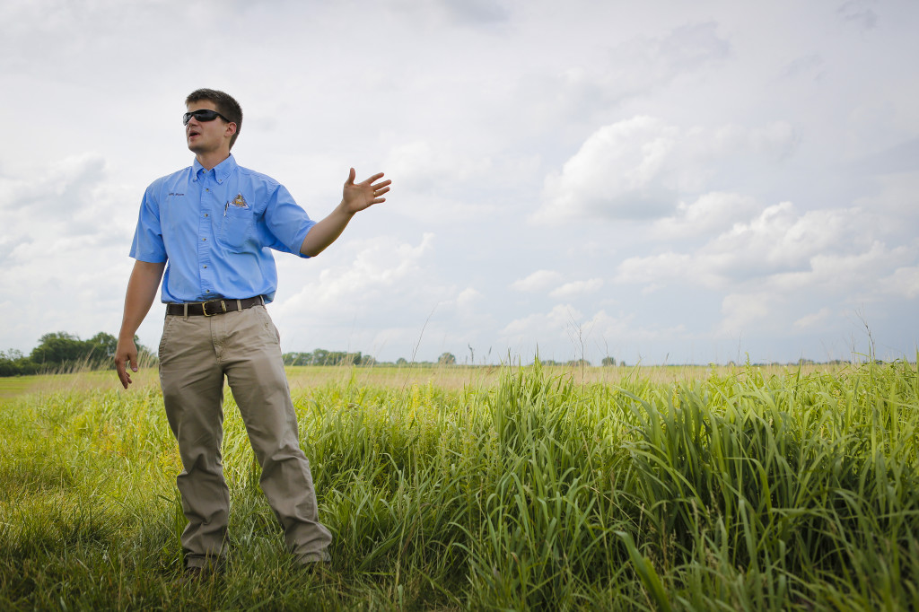 MDC Private Land Conservationist Seth Moore talks about how to do bird counts and which grasses and forbes work the best.