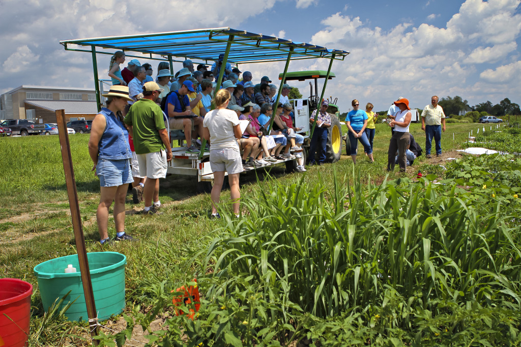 Educational talks and tours will feature a wide variety of topics from organic fruit production, permaculture, cover crops, beekeeping and the challenges of no-till.
