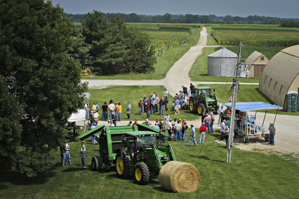 The 37th Annual Greenley Field Day will be held at the center in Novelty on Aug. 5. Breakfast starts at 7 a.m. with tours starting at 8 a.m.