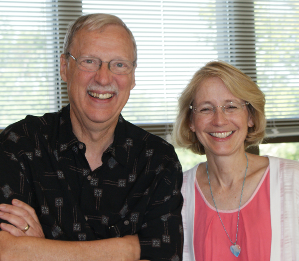 Frank Schmidt and Shari Freyermuth.