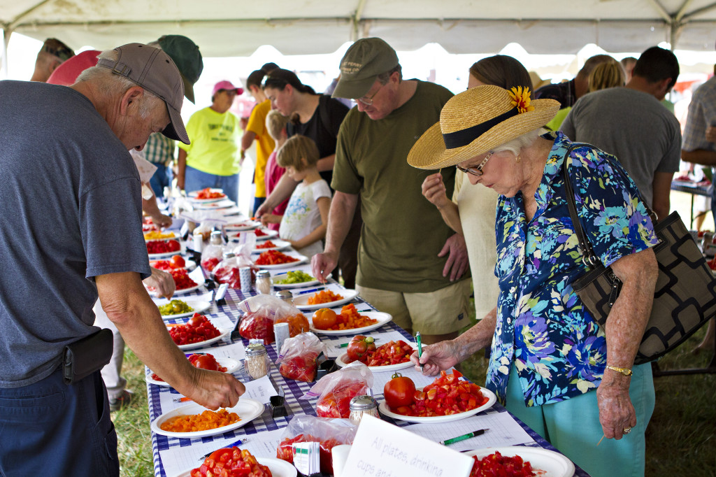For the 10th year, Bradford Research Center will welcome guests to try more than 250 different types of tomatoes and peppers at the annual Tomato Festival on Sept. 4.