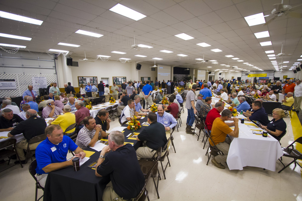 The 53rd Annual Fisher Delta Field Day was held at the center near Portageville on Sept. 2, 2014. The morning started with a breakfast and led into educational talks and tours around the center.