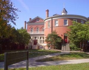 Parker Hall, MU's original hospital.