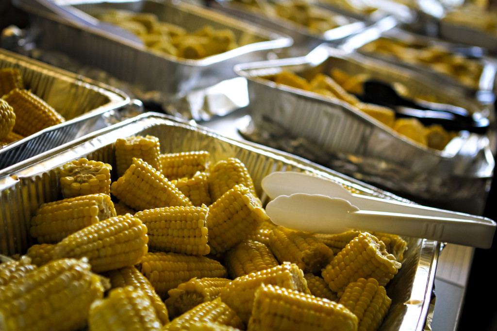 Dozens of varieties of sweet corn were sampled at Bradford after a bountiful harvest in mid August.