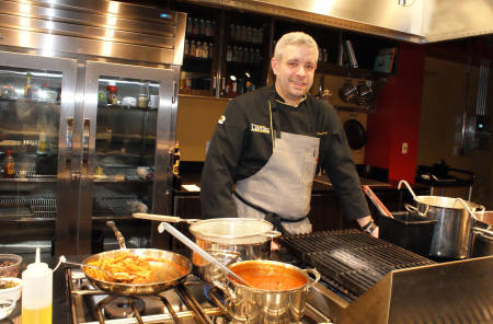 Campus Dining Executive Chef Eric Cartwright created the dishes.