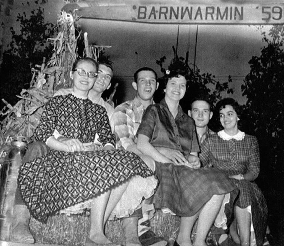 Savitar Barnwarming Queen Candidates 1959