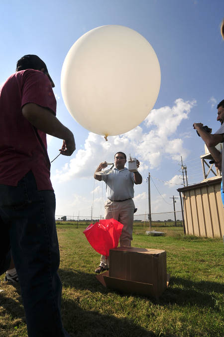 The new Mizzou atmospheric science radar will enhance the unit's current research projects, such as launching weather balloons into elevated convection events. These events can trigger rainfall-intense thunderstorms.