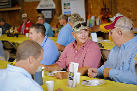 Many Field Days feature a breakfast or luncheon for attendees, including Graves-Chapple's event.