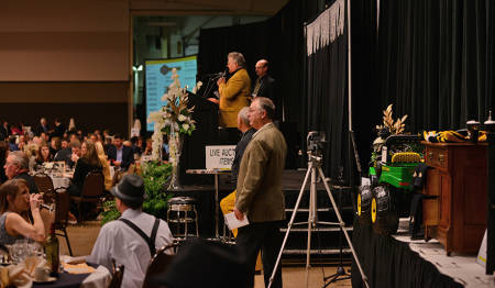Video cameras were behind the scenes at many Ag Alumni events over the past year.