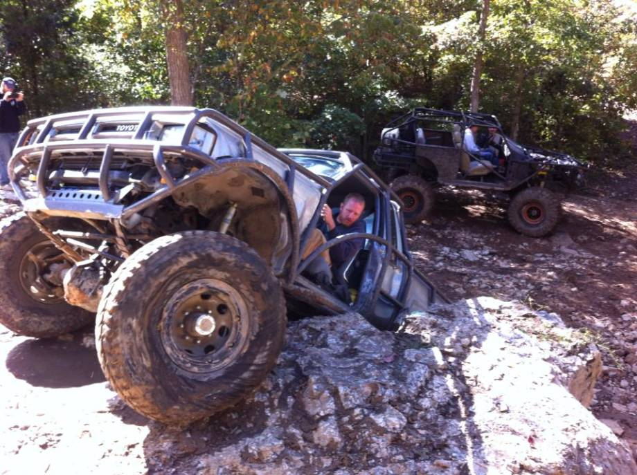 Andrew Biggs has modified four vehicles for off-road use. Photo courtesy of Andrew Biggs.