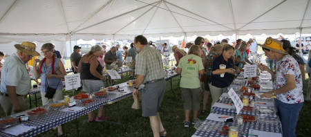The Tomato Festival at Bradford celebrated its 11th year this fall.