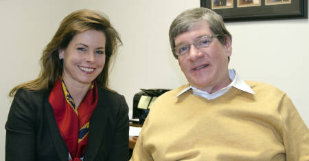 Ann McGruder and Michael Ouart