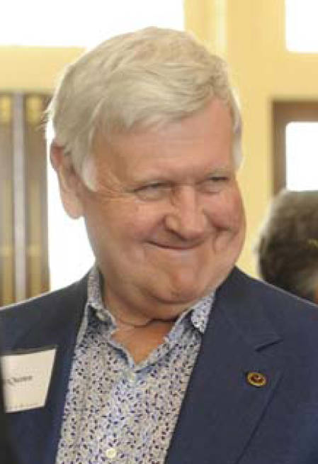 Al McQuinn, pictured here, was CAFNR's first Executive-in-Residence in 1997.