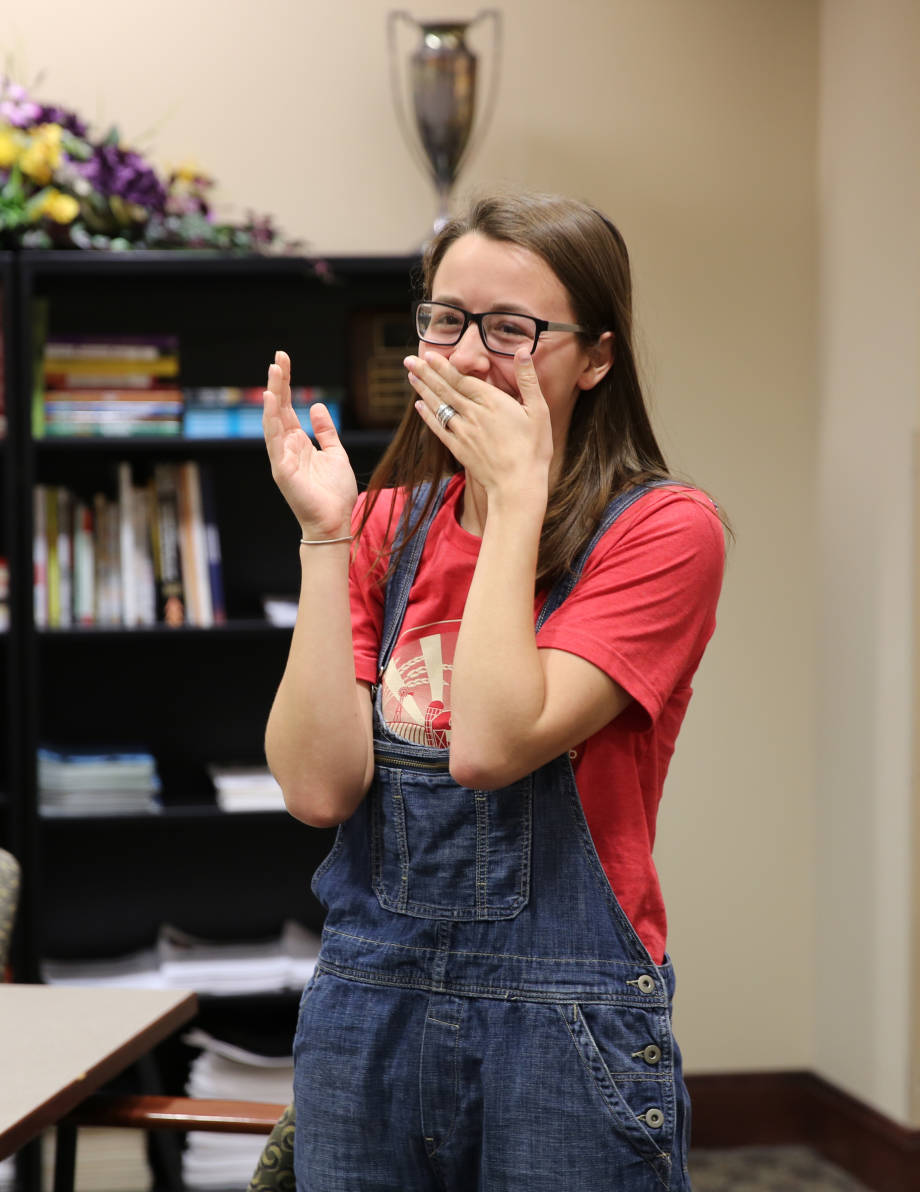 Maria Kalaitzandonakes was extremely surprised to hear that she had received the 2016 Truman Scholarship.