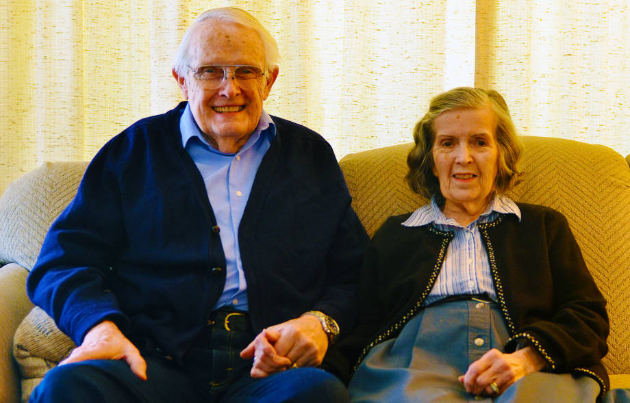 Rex and Mary Campbell become staples of the MU community since they moved to Columbia in 1958. Photo by Nate Compton.