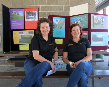 Kimberly Keller and Cindy Deblauw. Photo courtesy of Natalie Hampton.
